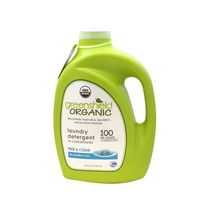 GreenShield Organic Free & Clear Laundry Detergent, 3x Concentrated, HE