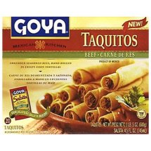 Goya Beef Taquitos, 20 ct, 5 oz.