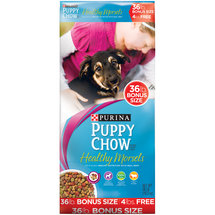 Purina Puppy Chow Healthy Morsels Dog Food Bonus Size