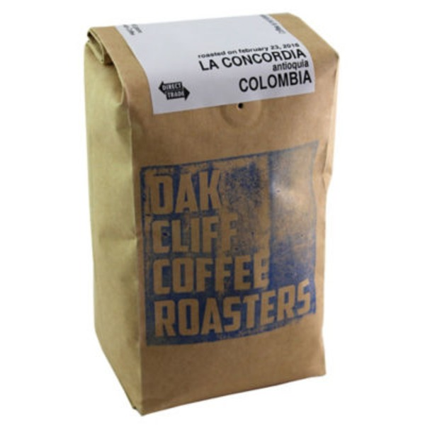 Oak Cliff Coffee La Concordia Colombia Coffee