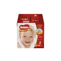 HUGGIES Little Snugglers Diapers, Size 3, 88 Diapers