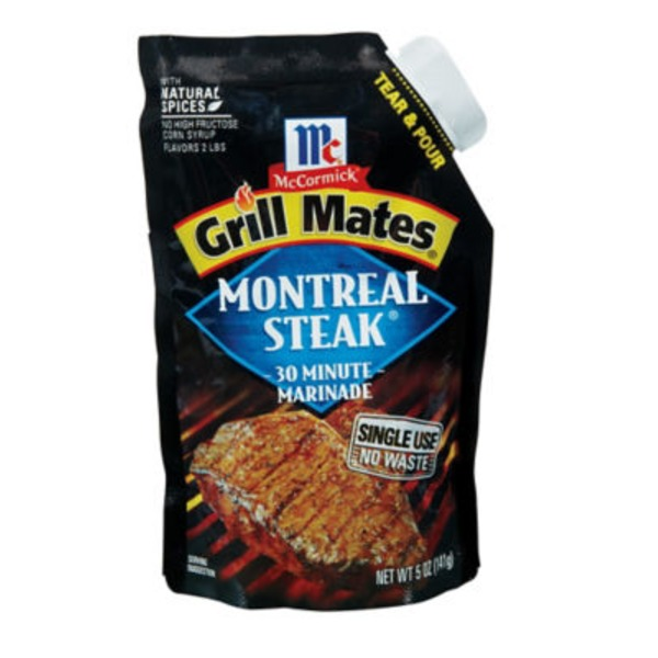 Mccormick Grill Mates Montreal Steak 30 Minute Marinade