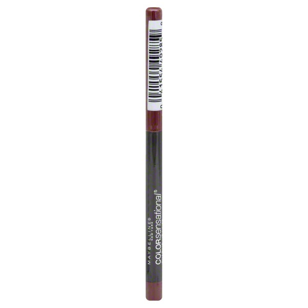 Maybelline Lip Liner, Shaping, Rich Wine 160
