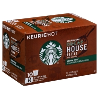 Starbucks Coffee K-Cup Decaffeinated House Blend