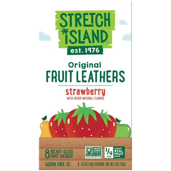 Stretch Island Fruit Original Strawberry Fruit Leathers