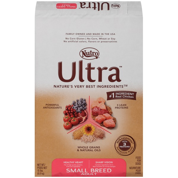 Nutro Ultra Small Breed Adult Dog Food