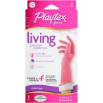 Playtex Living Reusable Gloves With Drip-catch Cuff Small - 1 Pair, Color May Vary