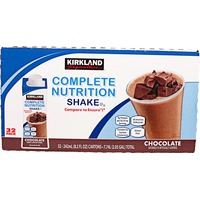 Kirkland Signature Complete Nutrition Chocolate Shake