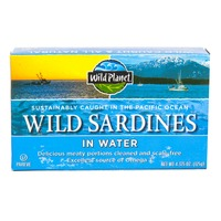 Wild Planet Wild Sardines In Water with Sea Salt