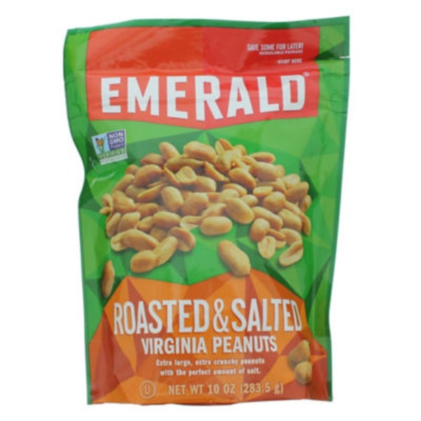 Emerald. Roasted & Salted Virginia Peanuts