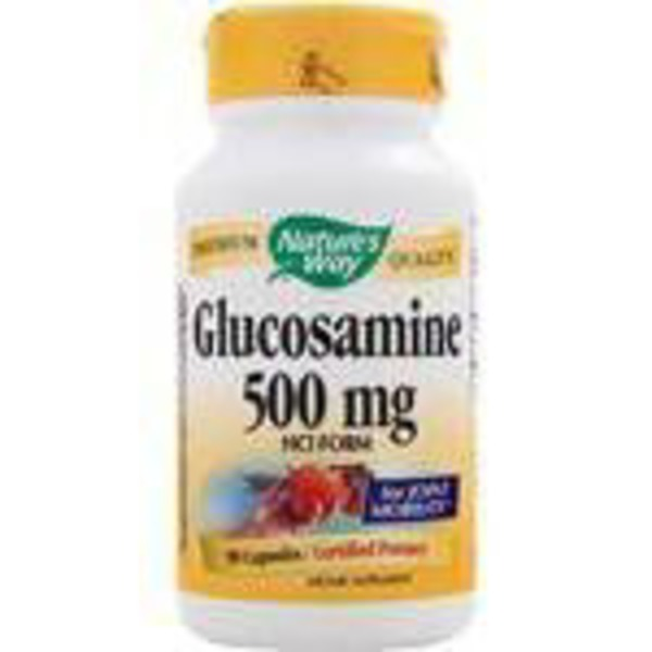 Nature's Way Glucosamine HCL 500 Mg Caps