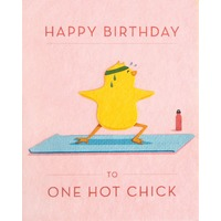 Good Paper Hot Chick Birthday