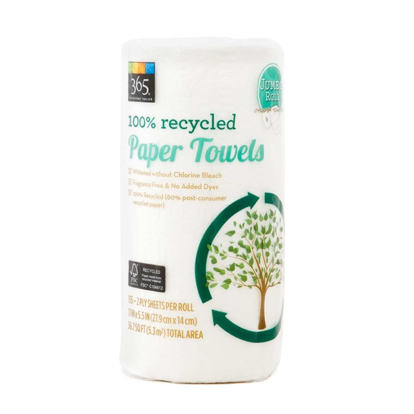 365 Custom Size Paper Towels