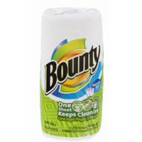 Bounty Basic Select-A-Size™ Paper Towels, White, 1 Big Roll = 33% More Sheets Towels/Napkins