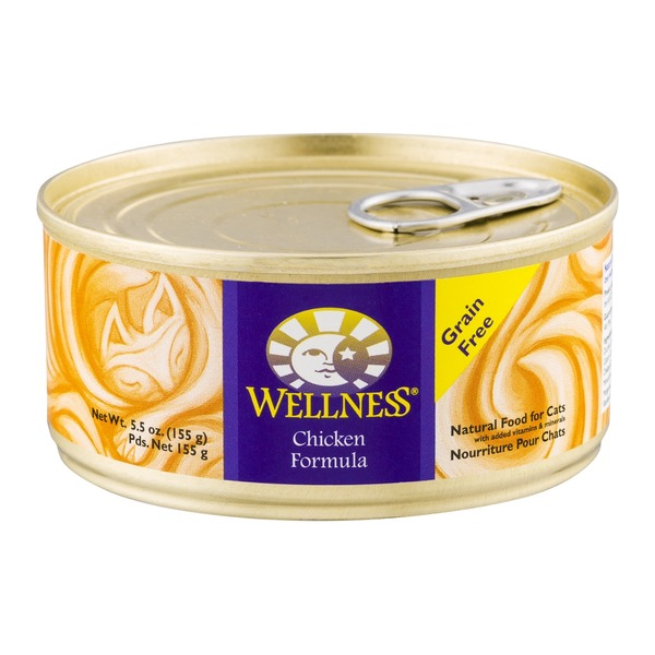 Wellness Chicken Formula, Grain Free Natural Food For Cats