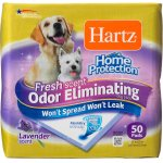 Hartz Home Protection Odor-Eliminating Dog Pads, 50 ct