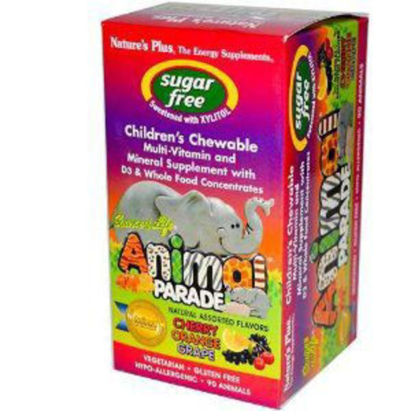 Nature's Plus Animal Parade Sugarfree Assorted Chews