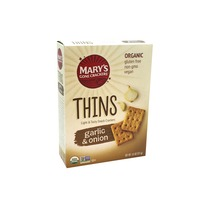 Mary's Gone Crackers Thins, Garlic & Onion