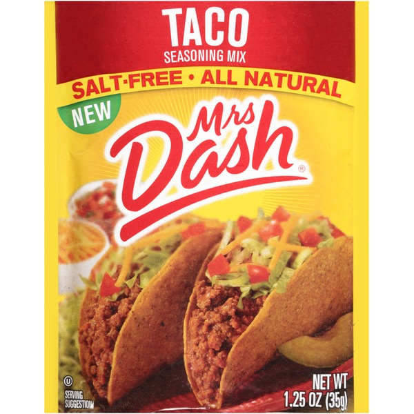 Mrs. Dash Taco Seasoning Mix