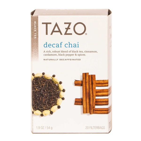 Tazo Tea Black Chai Decaf  Tea Bags