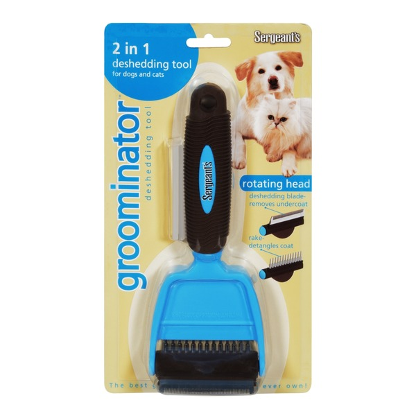 Sergeant's Groominator Deshedding Tool for Dogs and Cats