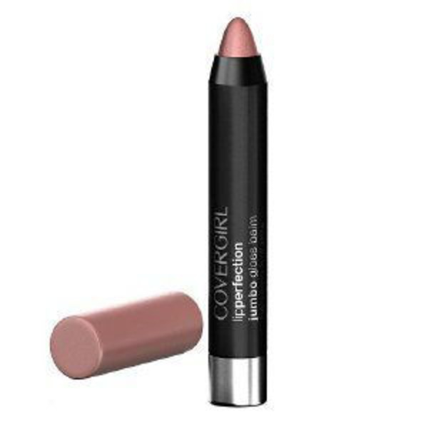 CoverGirl Colorlicious COVERGIRL Colorlicious Jumbo Gloss Balm Sheers, Ballet Twist .13 oz (3.8 g) Female Cosmetics