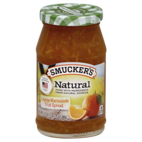Smucker's Natural Fruit Spread Orange Marmalade Spread