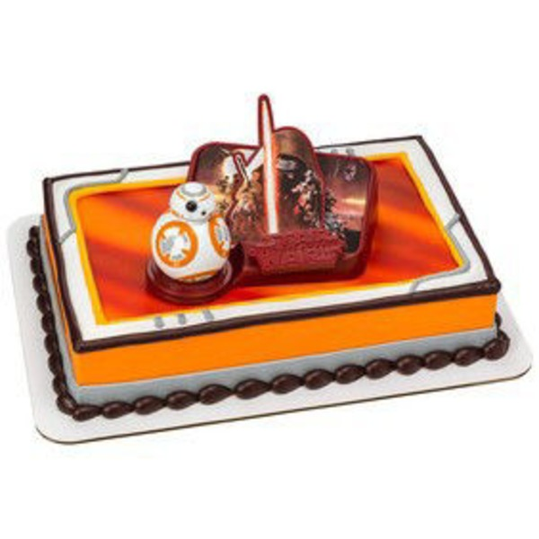 Star Wars The Force Awakens 1/4 Sheet Cake
