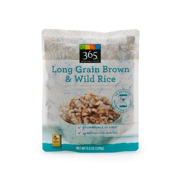 365 Long Grain Brown Wild Rice