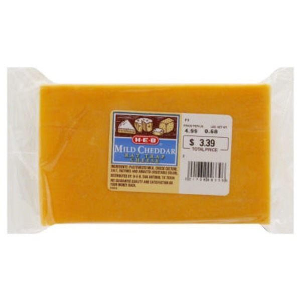 H-E-B Rat Trap Mild Cheddar Cheese