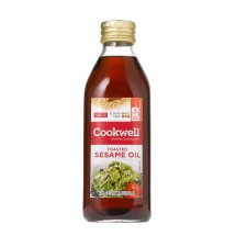 Cookwell Toasted Sesame Oil, 17 Oz, For Sautéing and Basting