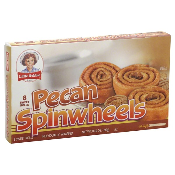 Little Debbie Pecan Spinwheels
