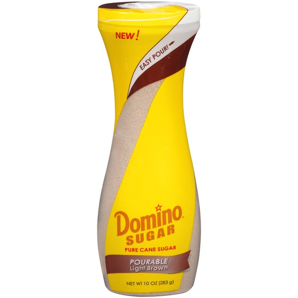 Domino Pourable Light Brown Pure Cane Sugar