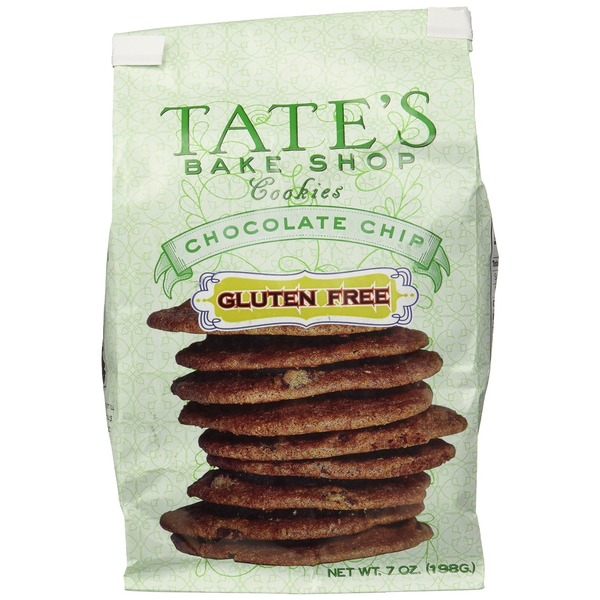 Tate's Bake Shop Chocolate Chip Cookies, Gluten Free