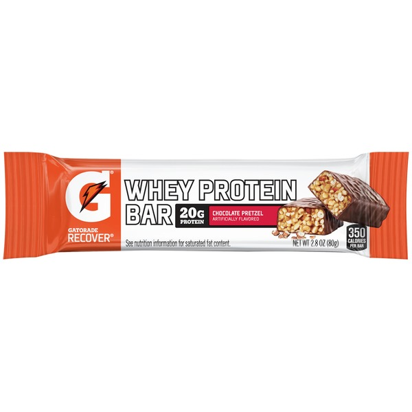 Gatorade Recover Chocolate Pretzel Whey Protein Bar