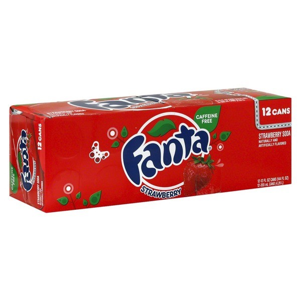 Coca-Cola Fanta Strawberry Soda