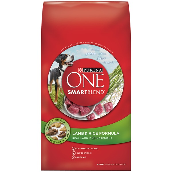Purina One Dog Dry SmartBlend Lamb & Rice Formula Adult Dog Food