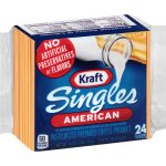 Kraft Singles American 24 ct Cheese Slices, 16 oz