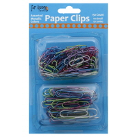 Assorted Metallic Paper Clips