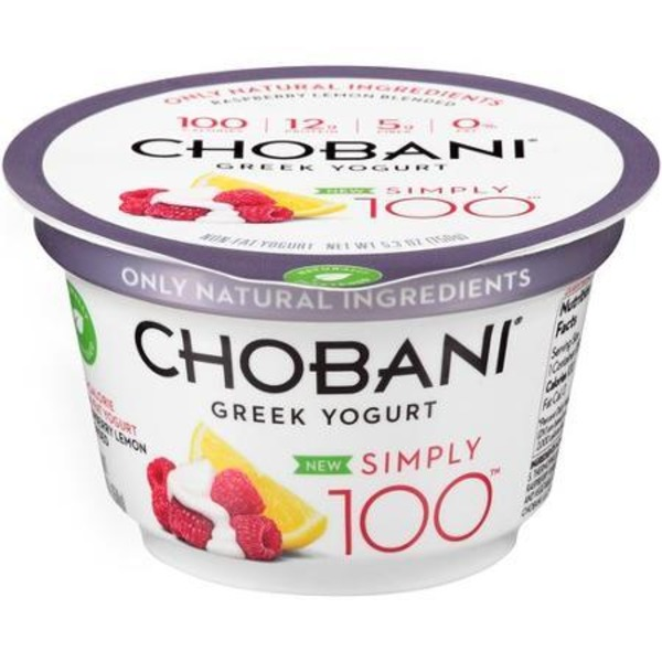 Chobani Raspberry Lemon Greek Yogurt
