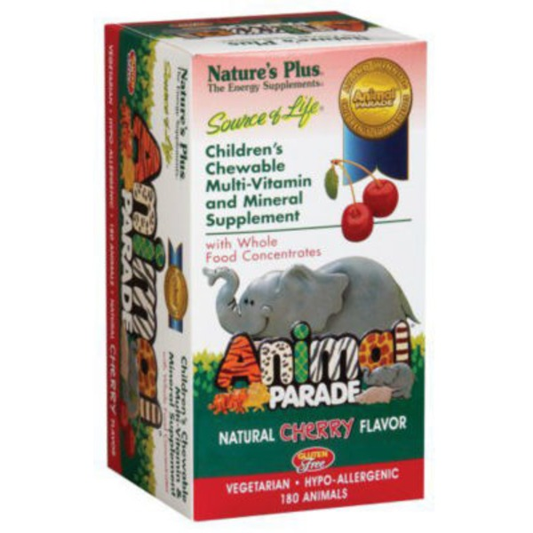 Nature's Plus Animal Parade Cherry  Vitamins