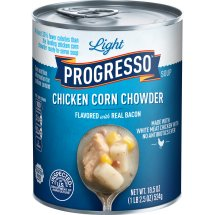 Progresso Light Chicken Corn Chowder Soup, 18.5 oz, 18.5 OZ