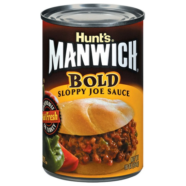 Manwich Bold Sloppy Joe Sauce
