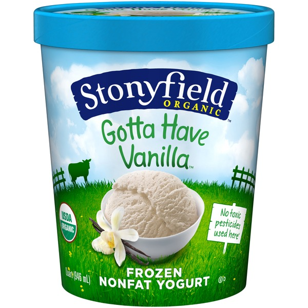 Nonfat Gotta Have Vanilla Organic Frozen Yogurt