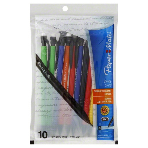 Paper Mate Mechanical Pencils, No. 2 (0.7 mm)
