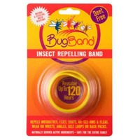 Bugband Yellow Insect Repellant Wristband