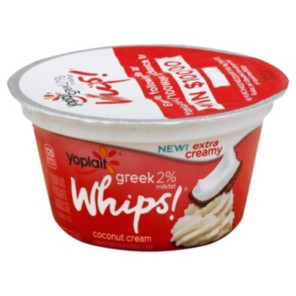 Yoplait Yoplait Greek Whips Coconut Cream Yogurt