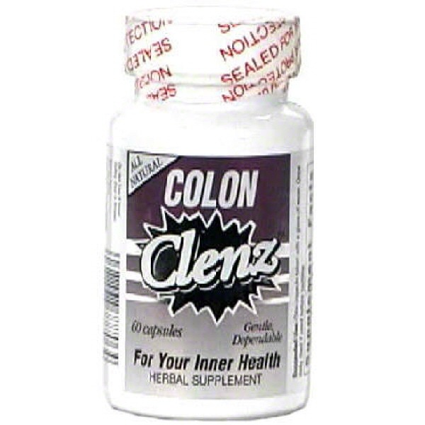 Natural Balance Colon Clenz Herbal Supplement Vegetable Capsules