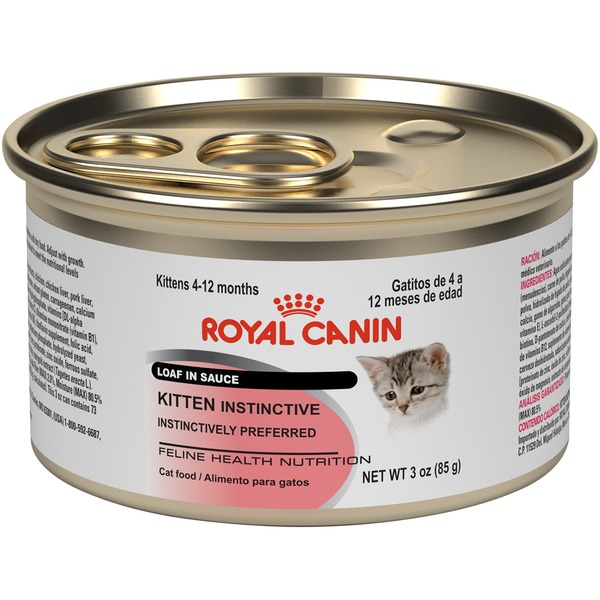 Royal Canin Feline Health Nutrition Kitten Instinctive Loaf in Sauce Cat Food