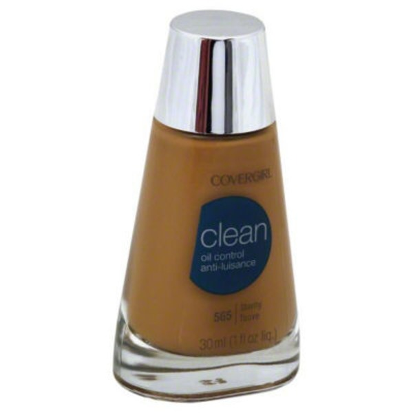 CoverGirl Clean Matte COVERGIRL Clean Matte Liquid Foundation Tawny 1 fl. oz Female Cosmetics